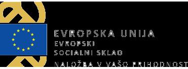 Logotip: EU, Evropski socialni sklad, Naložba v vašo prihodnost