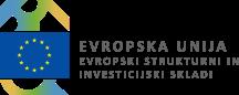 Logotip Evropski strukturni in investicijski skladi