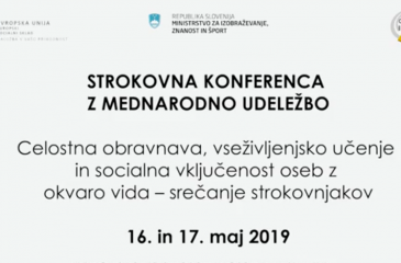 Naslovnica videa Strokovne konference
