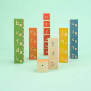 Kocke z brajevo pisavo