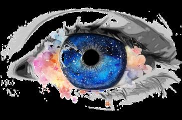 sproščeno oko